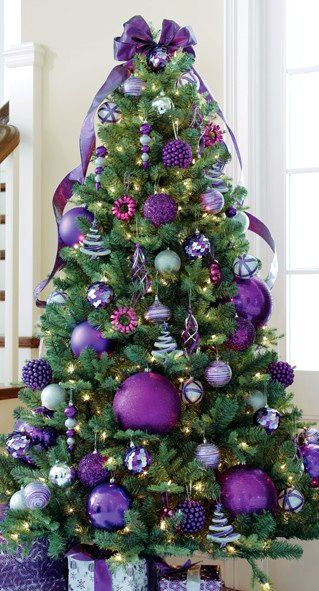Christmas Tree ● Purple