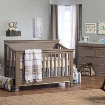 AWESOME crib and dresser set, and the best part is it can turn into a toddler bed, and then a twin bed as your kid ages. Not having to buy a new bed every couple of years? sounds great! :)