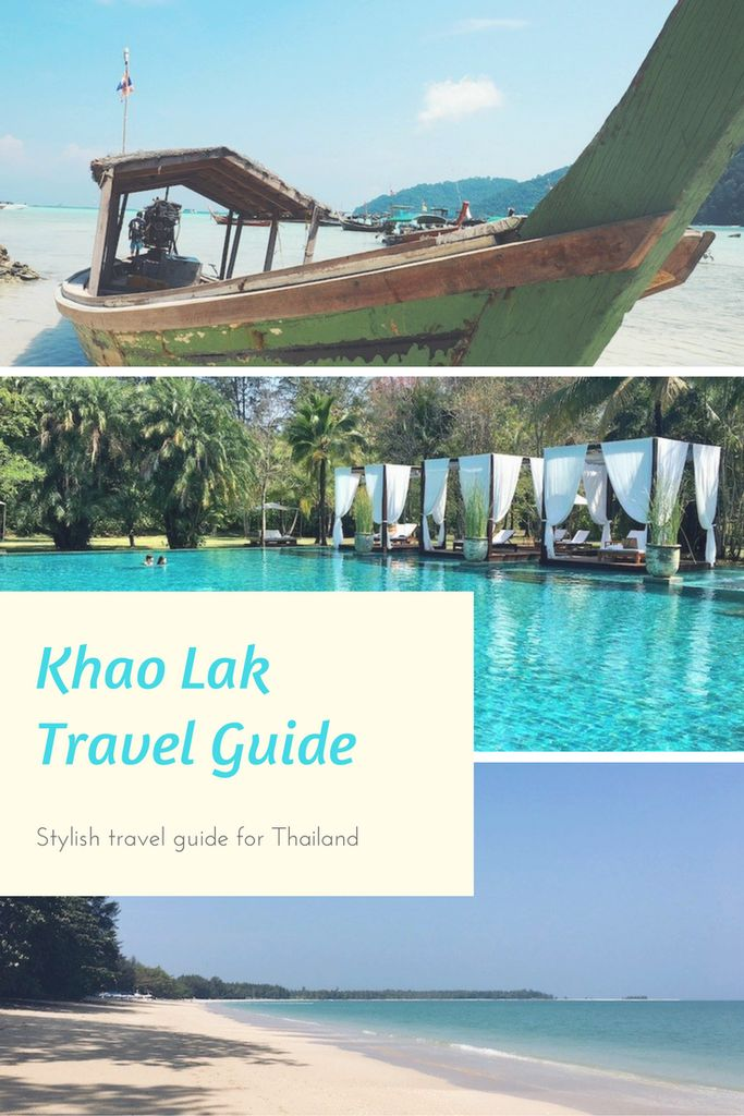 Discover the best things to do, eat and where to stay in the gorgeous Thai beach resort of Khao Lak.  Stylish travel guide for Thailand | Khao Lak Travel Tips | Thailand travel tips | Khao Lak Travel Guide