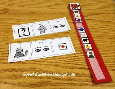 Speech Room News: Brown Bear, Brown Bear for Speech & Language