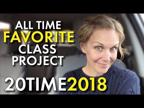 Project-Based Learning, 20Time, Favorite Project for High School English, Teacher Vlog - YouTube