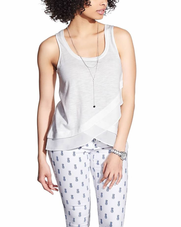 Petite Scoop Neck Tank Top