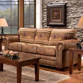 Wild Horses Sofa | Overstock.com Shopping - The Best Deals on Sofas & Loveseats