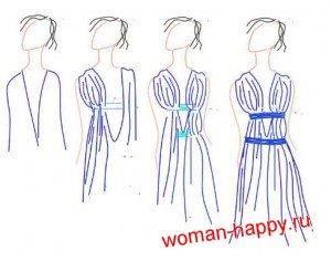 Сшить платье греческой богини