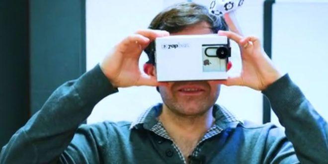 ZapBox casque réalité augmentée projet KickStarter