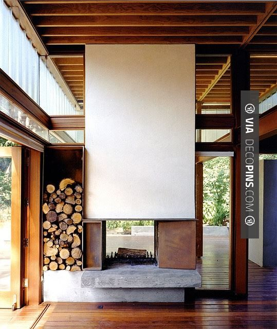 Brilliant! - fireplace   CHECK OUT MORE FIREPLACE IDEAS AT DECOPINS.COM   #fireplace #fireplace #hearth #fireplaces #brickfireplace #firepit #fire #firewood #indoorfireplace #outdoorfireplace