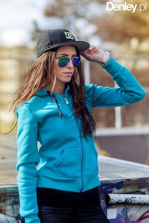 Bluza damska Abaquz w kolorze turkusowym  http://www.denley.pl/product-pol-14304-ABAQUZ-1235-TURKUSOWY.html