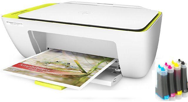 Sistema De Tinta Continua En Impresoras Hp Deskjet Ink Advantage