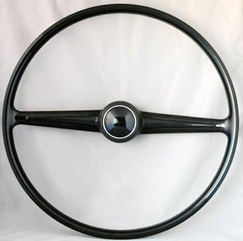 Steering Wheel, Bus -'67, Black, New  Item Number: 211415655ABK Price: $224.99 This is a new steering wheel, for your Bus's up to 1967. #aircooled #combi #1600cc #bug #kombilovers #kombi #vwbug #westfalia #VW #vwlove #vwporn #vwflat4 #vwtype2 #VWCAMPER #vwengine #vwlovers #volkswagen #type1 #type3 #slammed #safariwindow #bus #porsche #vwbug #type2 #23window #wheels #custom #vw #EISPARTS