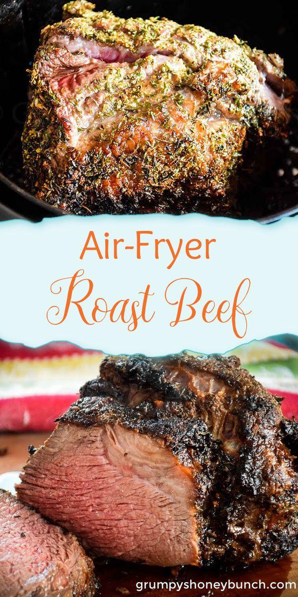 Air Fryer Roast Beef Recipe Air Fryer Recipes Lamb Roast Beef Recipes Beef Brisket Recipes