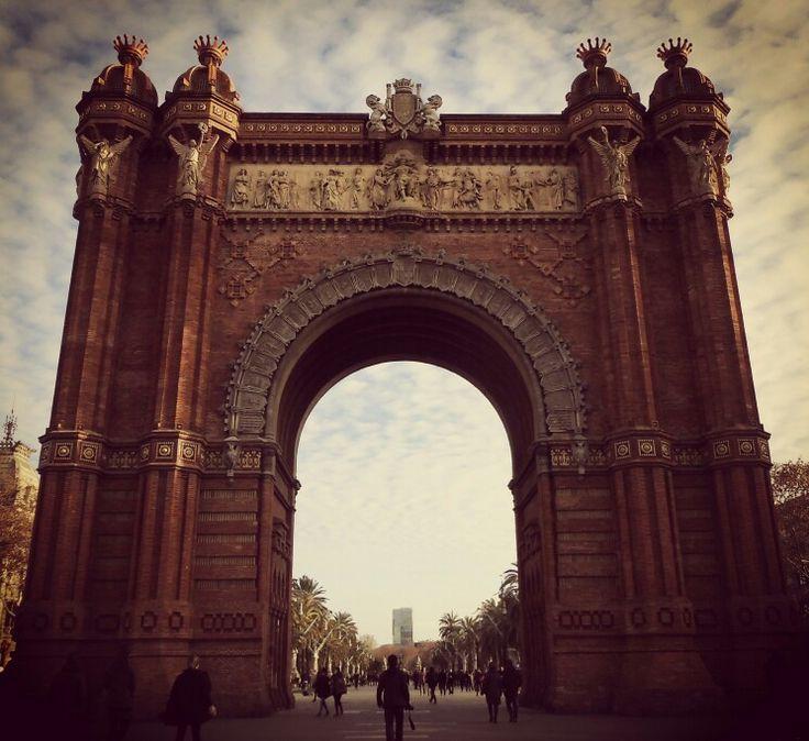 Arc de Triomf, Psg. de Lluìs Companys. Barcelona.