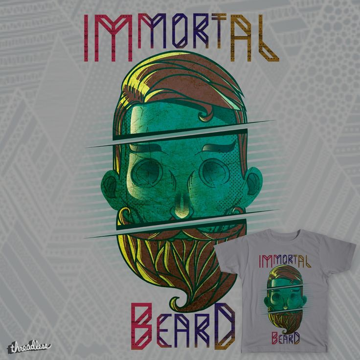 Immortal Beard on Threadless