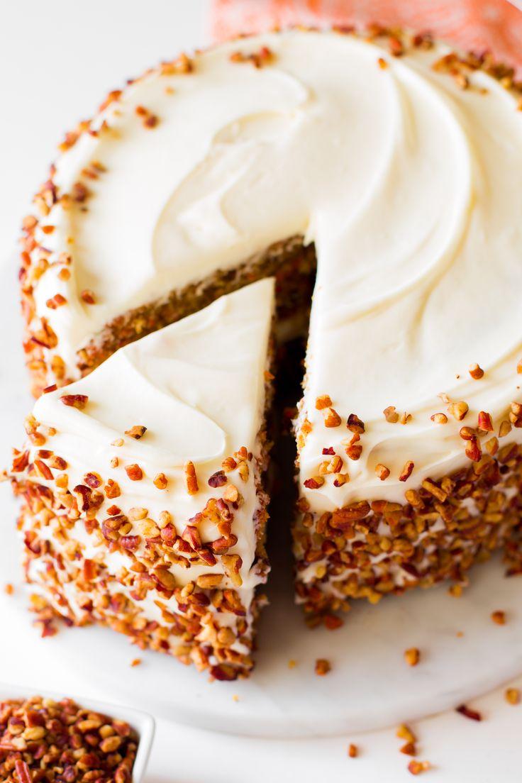 Diamond Walnut Carrot Cake Recipe