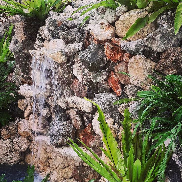 Rockface waterfall feature. Uluwatu Using local stone from the project  By Bali Landscape Company  http://ift.tt/1QzTwns  #uluwatu #waterfeature #waterfall #limestone #rockwall #balilandscapecompany #bali #balilandscaper  #landscape #landscapeconstruction #landscapecontractor #gardendesignmag #gardenideas #landscape_review #landscapearchitecture #landscapearchitect #garden #gardenideas #gardeninspiration #gardenlove #instagarden #planting #taman #landscapedesigner #tuscanstyle  by…
