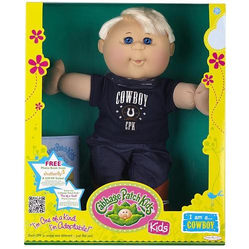 Cabbage Patch Kids Toddler Doll Caucasian Boy - Blonde - Cowboy - FAO Schwarz®