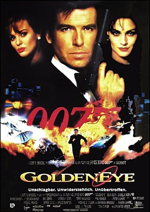 Poster zum Film: James Bond 007 - GoldenEye