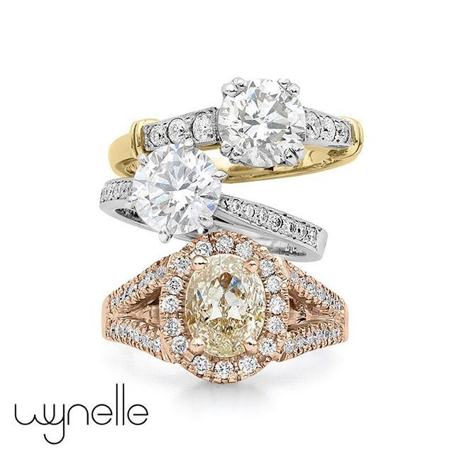 Yellow | White | Rose  Wynelle have the best jewellery designers to guarantee your dream ring comes to life! Any shape, colour or style. Contact Wynelle Jewellery Designs today to book your one on one appointment.