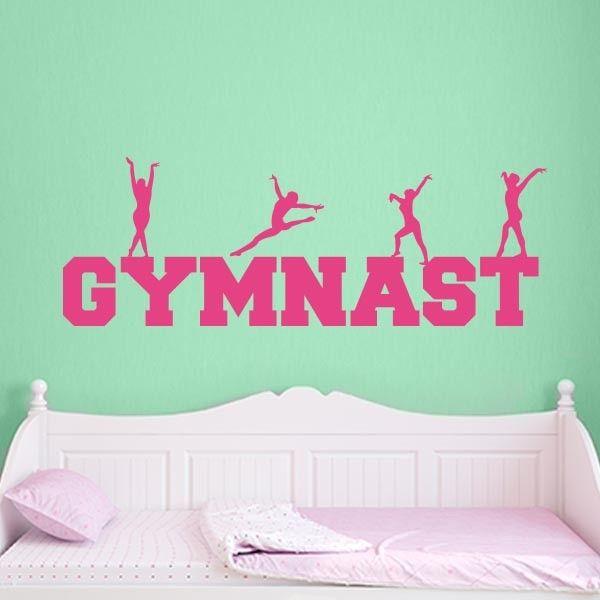 Gymnastics Wall Art 25+ best gymnastics room ideas on pinterest | gymnastics bedroom