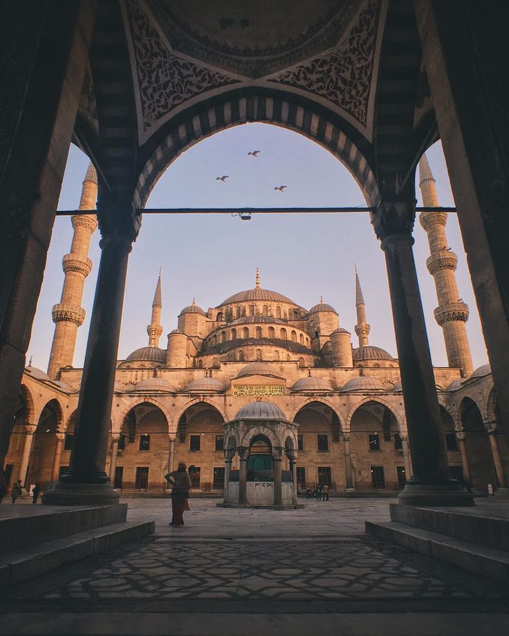 The Sultan Ahmed Mosque or Sultan Ahmet Mosque is a historic mosque located in Istanbul, Turkey. A popular tourist site, the Sultan Ahmed Mosque continues to function as a mosque today.