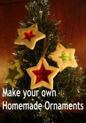 244 homemade christmas ornaments