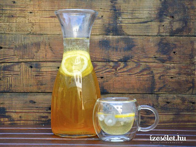 A gyömbér télen fűt, nyáron hűt. Egy forró napon érdemes kipróbálni a házilag készített jeges teát, amit a gyömbér tesz igazán hűsítővé.