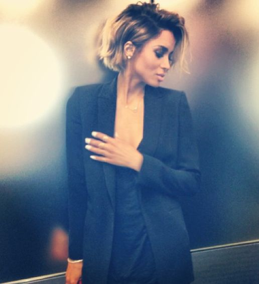 I wouldn't exactly call it cute but Ciara's bob gives me hope while growing mine out.