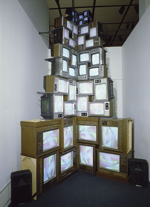 Nam June Paik, V-yramid, 1982  82.11