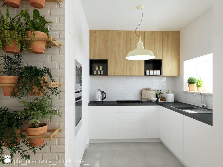 Kuchnia - zdjęcie od purple_pracownia_projektowa_ - Kuchnia - Styl Skandynawski - purple_pracownia_projektowa_