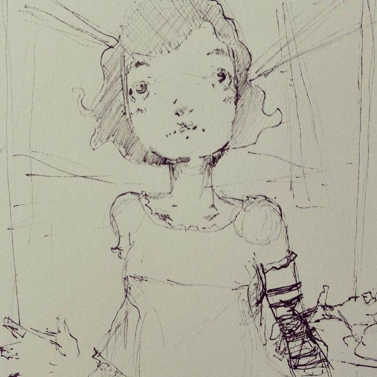 Scarabocchio della domenica sera.  #sketch #sketchbook #draw #drawing #drawings #disegni #illustration #illustrationart #illustrazione #robadadisegnatori #disegnatori #comics #fumetti #manga #kawaii #instadaily #instacool