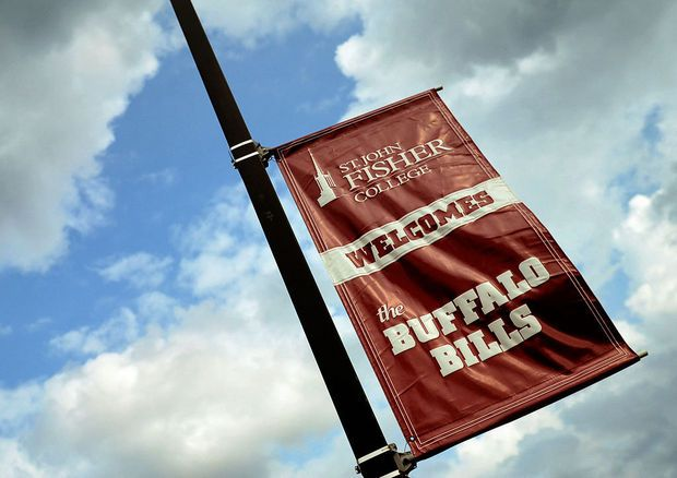 The Buffalo Bills opened their 15th training camp at St. John Fisher College on Sunday night July 20 as they prepare for the 2014-15 season.