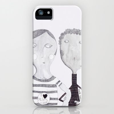 Friends and Lovers iPhone & iPod Case by Zuriñe Aguirre Illustration - $35.00