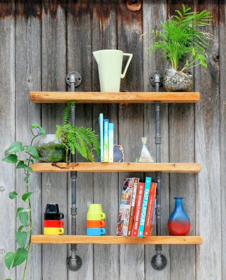 Lee Strasberg Weathered Antique Shelves Iron by CedarShakeVillage
