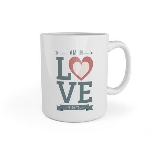 Taza Amor San Valentín