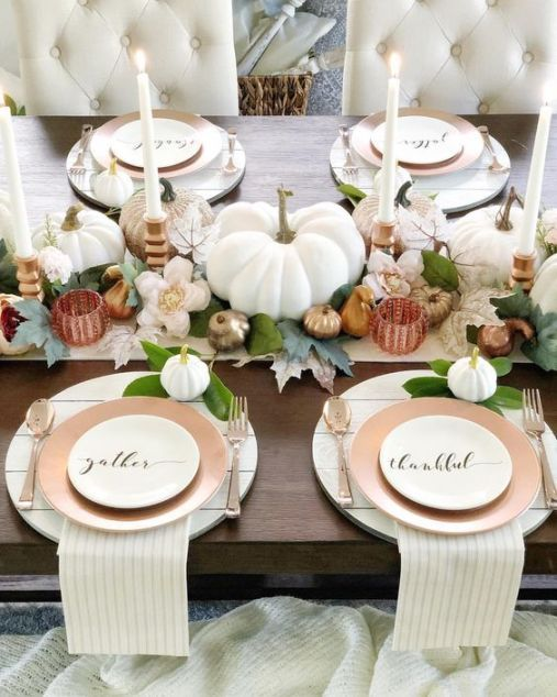 super Thanksgiving decor ideas for the upcoming holiday season
