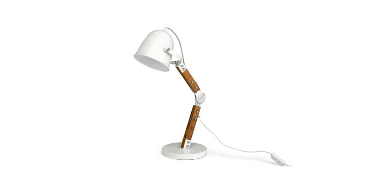 Pivot White Table Lamp - Lighting - Article | Modern, Mid-Century and Scandinavian Furniture