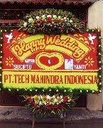 Bunga Papan Pernikahan Sovereign Plaza Wedding Hall   Toko Bunga by Florist Jakarta