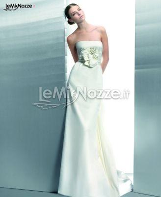 http://www.lemienozze.it/gallerie/foto-abiti-da-sposa/img33624.html  Abito da sposa con fiocco in vita