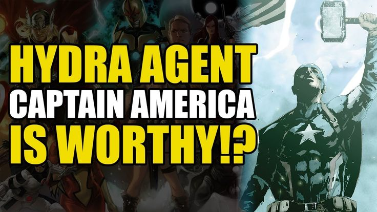 Hydra Captain America Lifts... (Secret Empire: The Day The Heroes Fell)