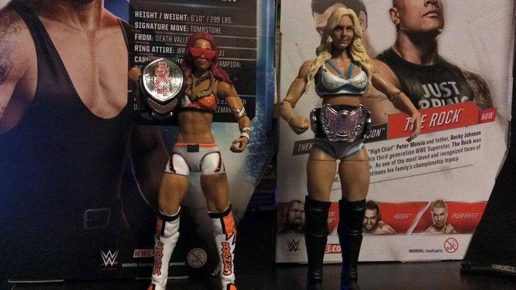 WWE Elite Sasha Banks & Charlotte w/ Diva's & NXT Women's Championship Diva Lot - http://bestsellerlist.co.uk/wwe-elite-sasha-banks-charlotte-w-divas-nxt-womens-championship-diva-lot/