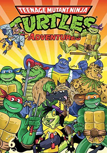 "Teenage Mutant Ninja Turtles Adventures Volume 6:   The all-ages TMNT action continues in this collection of TMNT Adventures! Enjoy classic Turtles tales like ""Space Junk Face Funk Cyber Punk Thief,"" ""Rat Trap,"" ""Search and Destroy,"" and ""Gimme Danger!"""