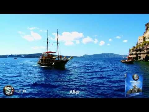 aerial DRONE luts - 3D Luts for aerial video and photography - YouTube