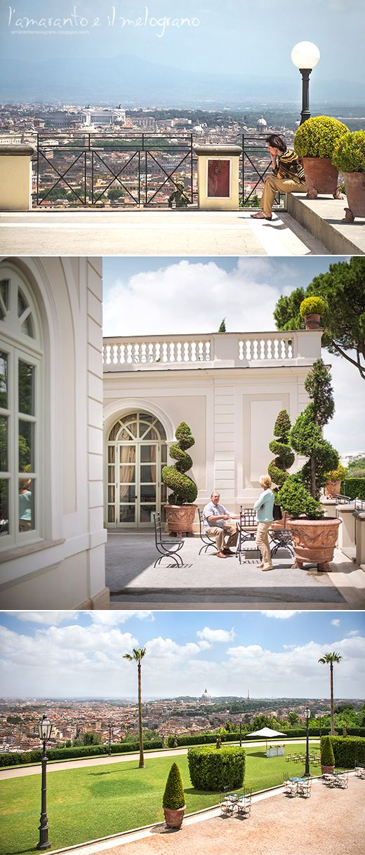 L'amaranto e il melograno: Solstizio d'estate a Villa Miani, prodotti meravigliosi e il panorama più bello di Roma