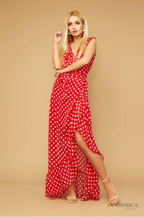 eea5299ac02 Легкое летнее платье в горох  купить оптом в Украине