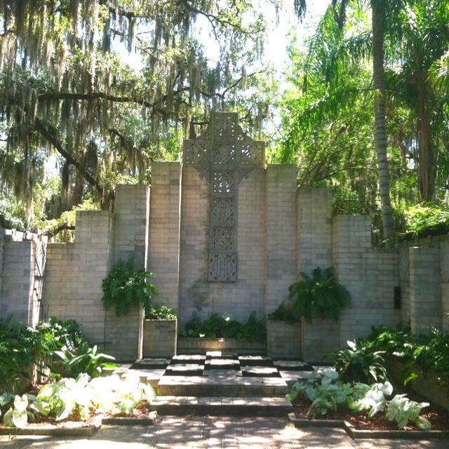 Outdoor Wedding Ceremony Orlando: Wedding Chapel At The Maitland Art Center (Maitland,FL
