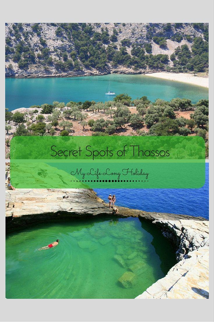 Thassos, Greece... Ssshhh! It's a secret