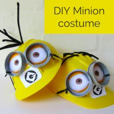 How to make the cutest DIY Minion costume