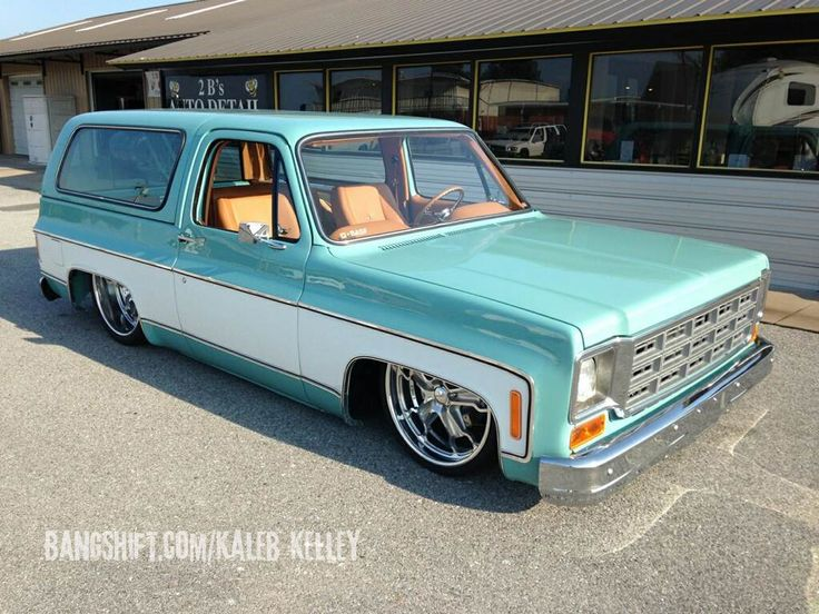 square peg this bitchin square body blazer doesn t fit the round hole now for sale hot rods. Black Bedroom Furniture Sets. Home Design Ideas