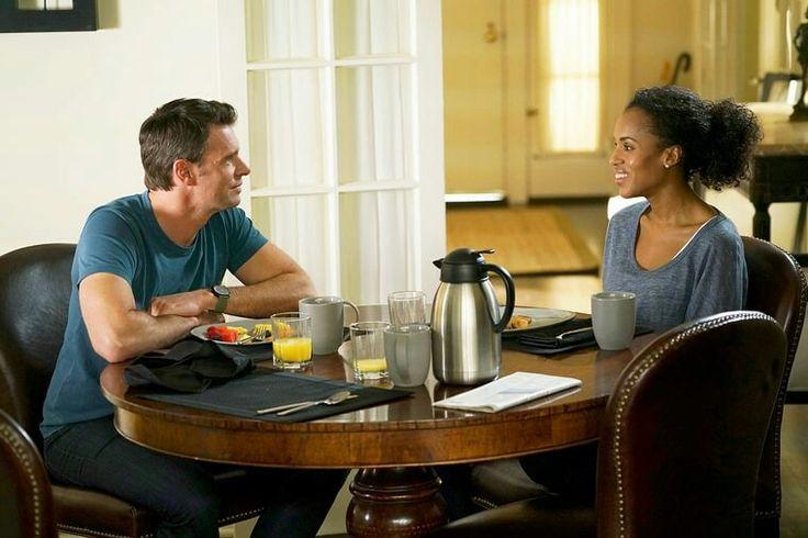 Scott Foley and Kerry Washington on 'Scandal' Adam Taylor/ABC