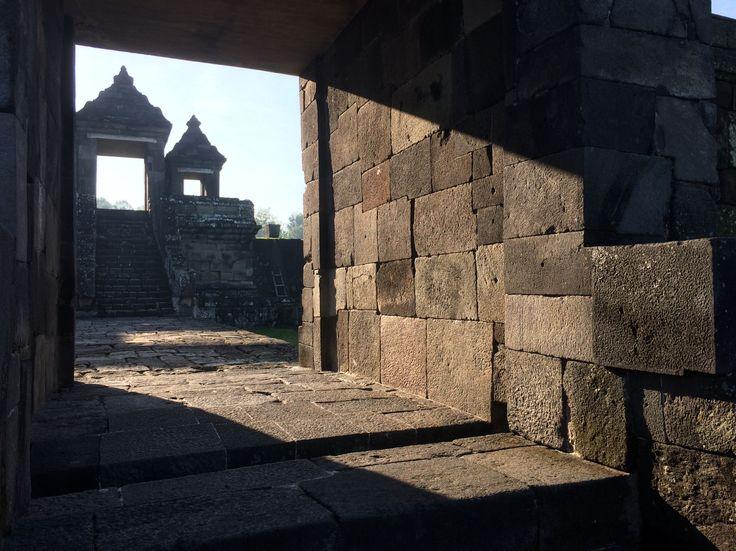 Gate of Kraton Candi Boko - Prambanan, Sleman, Yogyakarta, Indonesia.