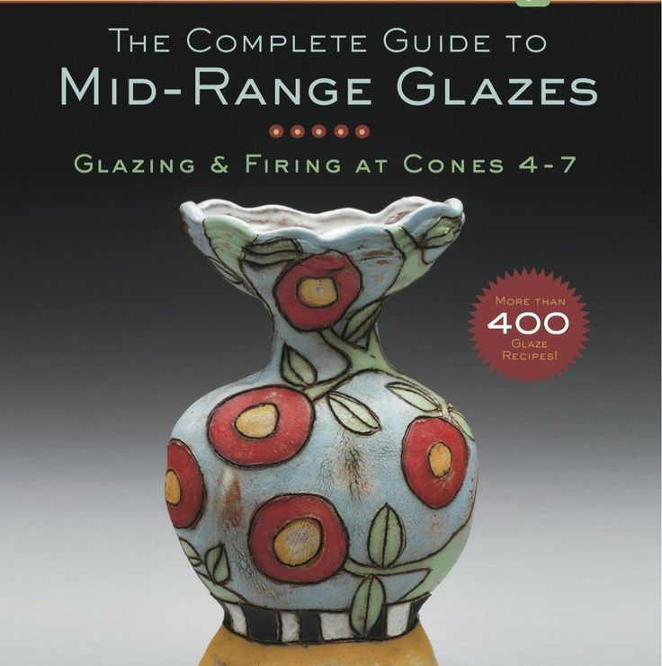 Clay Club: The new Cone 6 Glaze Book is in!